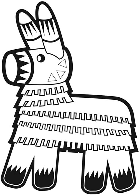 donkey pinata coloring page the gallery for gt donkey pinata coloring pages