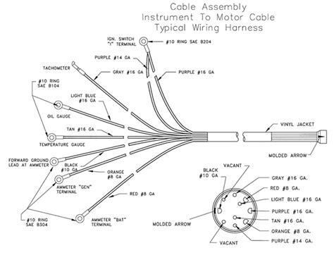 yamaha outboard digital tach wiring diagram outboard