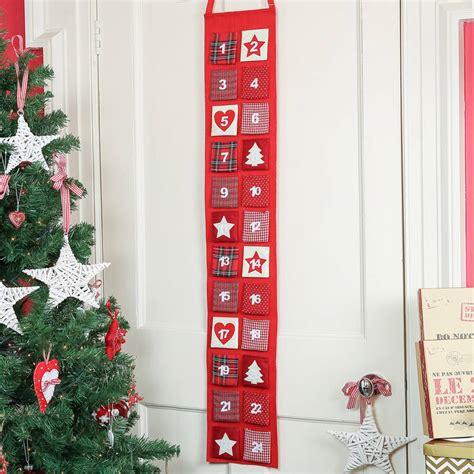 Fabric Advent Calendar Large Fabric Advent Calendar By Dibor