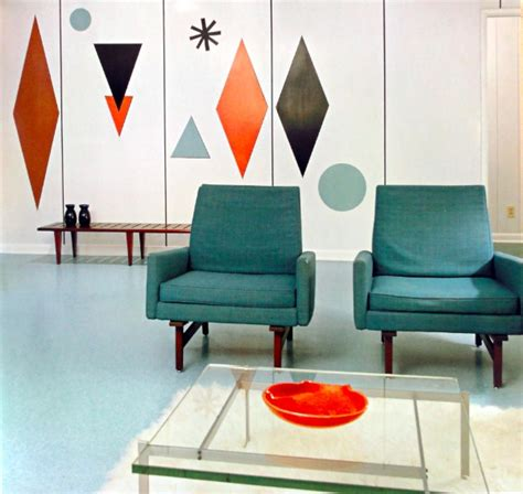 mid century modern color schemes the colours of mid century modern part 2