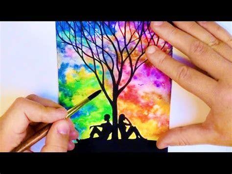 imagenes para dibujar faciles en color imagenes de paisajes faciles para dibujar y pintar