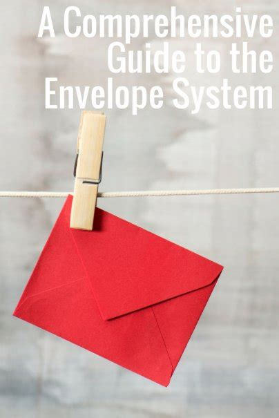 comprehensive guide   envelope system