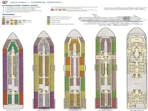 Carnival Ecstacy Floor Plan | carnival ecstasy deck plan carnival ecstasy ship layout