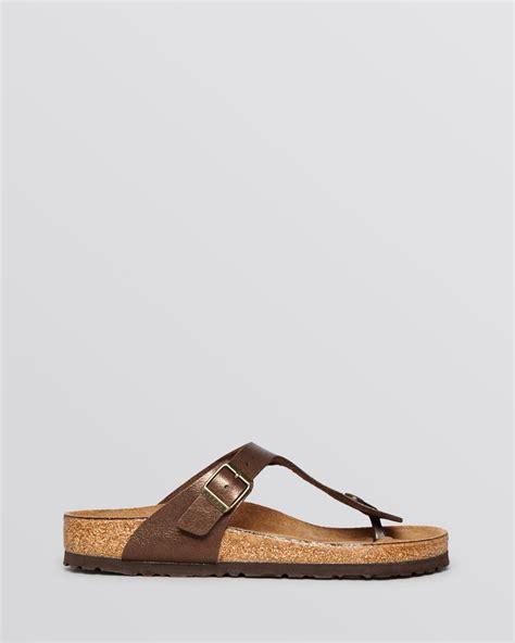gizeh sandal birkenstock sandals gizeh in lyst