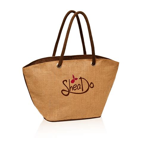personalized jute basket tote bags tot discountmugs
