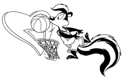 Junior Jam Space Jam Coloring Pages