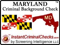 Check Criminal Record Maryland Maryland Criminal Background Checks For Pre Employment