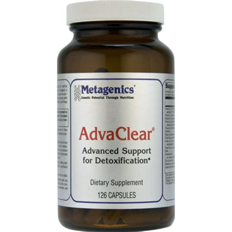 Metagenics Integrated Detox Reviews by Metagenics Advaclear 126 Capsules The