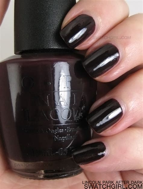 lincoln park opi opi lincoln park after nail lacquer swatchgirl