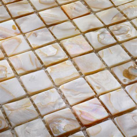 mosaik fliesen 30x30 perlmutt mosaik shell fliesen bunt 30x30 cm ebay