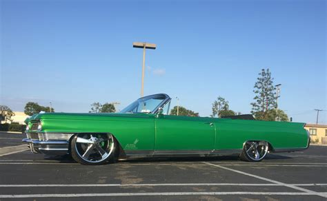 1964 cadillac eldorado featuring house of kolor paint accuair 22s for sale