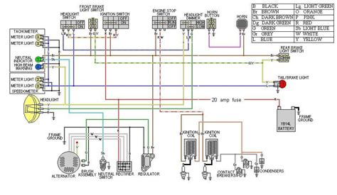 xs650 wiring diagram 1983 25 wiring diagram images