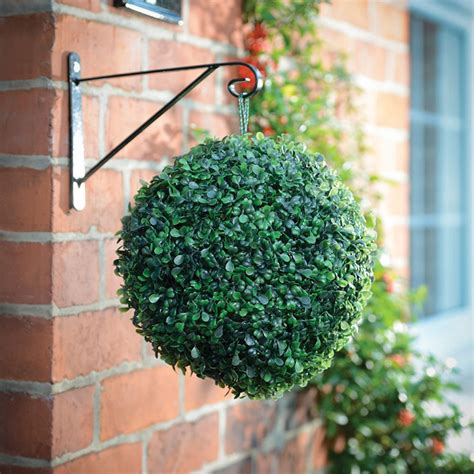 artificial topiary balls with solar lights wholesale retail free shipping artificial topiary