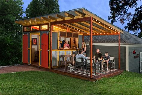 Farm House House Plans by Shed Bar Ideas Shed Farmhouse With Outdoor Party Shed