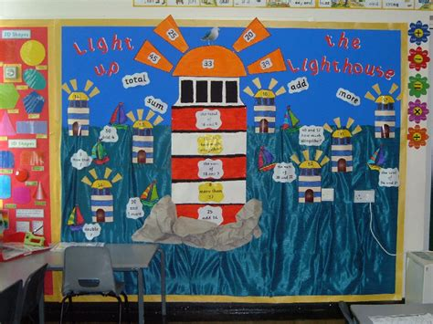 light house displays light up the lighthouse addition and subtraction classroom