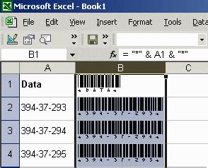 Barcode Tutorials And Faq For Microsoft Access Word And Excel Barcode Scanner Excel Template