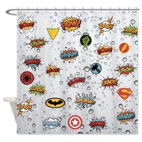 Comic Shower Curtain by Book Design Comic Books And Shower Curtains On