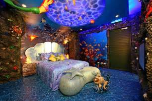 Home Design Sea Theme by 15 Dazzling Mermaid Themed Bedroom Designs For Girls Rilane