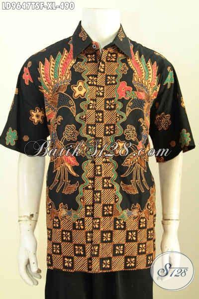 desain baju batik untuk orang pendek batik hem solo premium lengan pendek kemeja batik