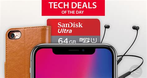 tech deals iphone x glass screen protector 2 iphone 8 leather 50 beatsx more