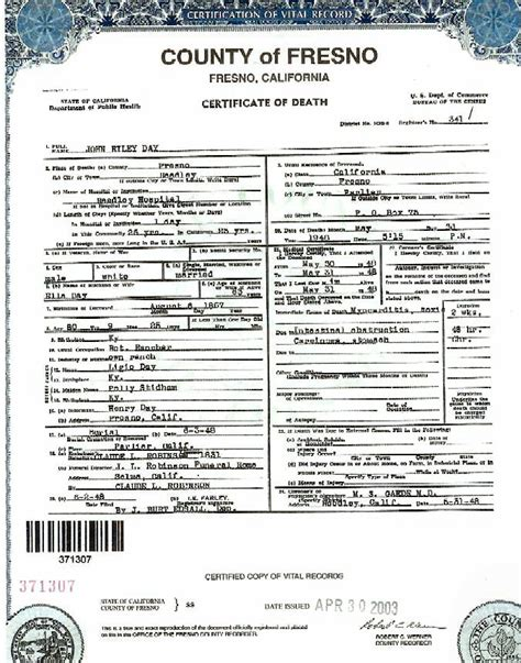 Fresno County Of Records Birth Certificate Best Photos Of 2012 California Certificate California California