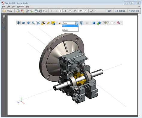 Solidworks Mbd Archives Engineers Rule Solidworks 3d Pdf Template