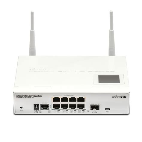 Mikrotik Routerboard Crs109 8g 1s 2hnd In mikrotik crs109 8g 1s 2hnd in router switches isp supplies