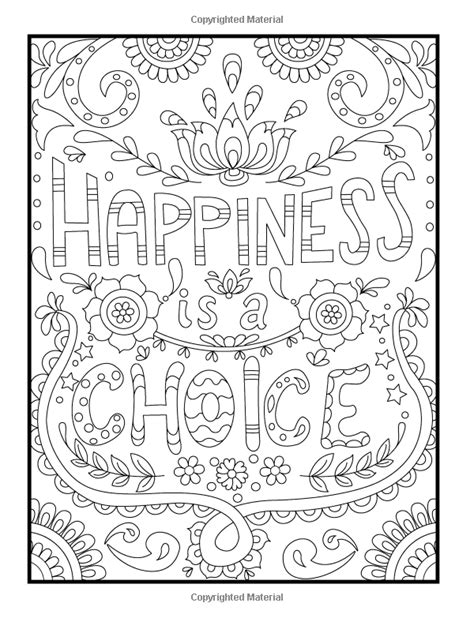 positive affermation printable coloring pages positive