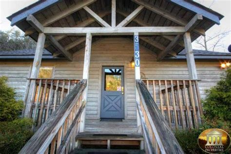 Colonial Cabins In Pigeon Forge by Colonial Properties Cabin Resort Rentals Pigeon Forge