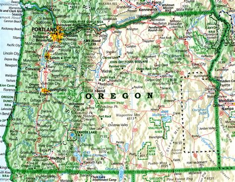 us map oregon state oregon david imus puts geography on the map