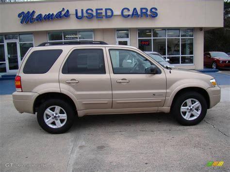 2007 ford escape hybrid 2007 dune pearl metallic ford escape hybrid 4wd 25062884
