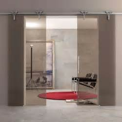Interior sliding glass door midcentury home office dc metro by