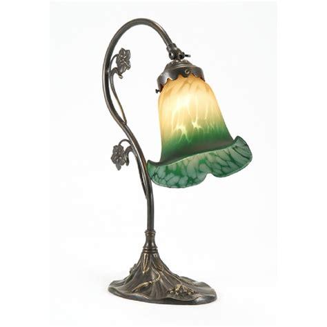 art nouveau light fixtures victorian aged brass l buttermilk green glass shade
