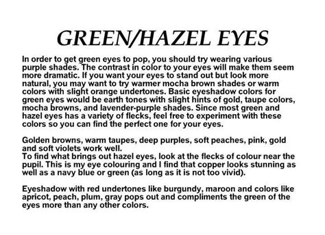hazel eyes best hair color quotes green hazel eyes colors pam s sensecosmetics beatie