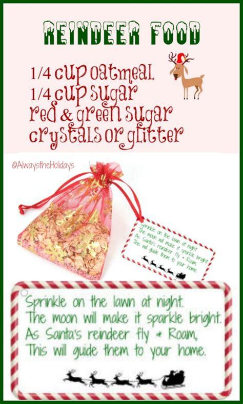 printable magic reindeer food labels magic reindeer food and free printable label