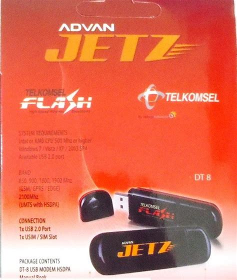 Modem Telkomsel Flash Seken modem advan jetz mobile broadband via telkomsel flash