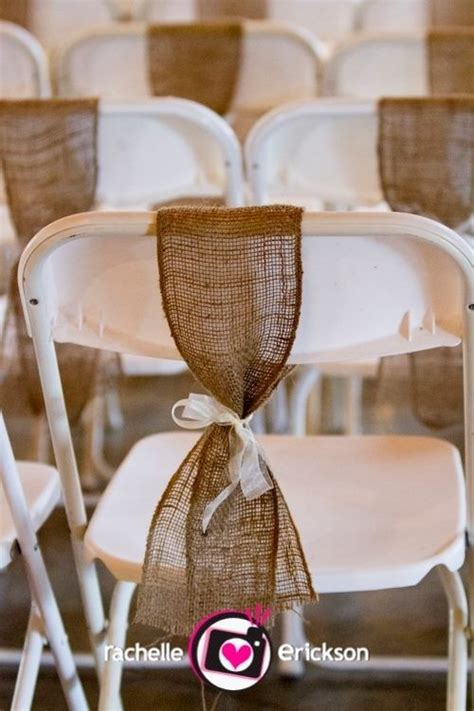 chair covers and sashes hshire burlap chair sashes search wedding