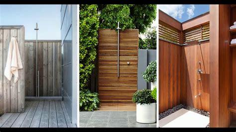 top 10 best outdoor shower design ideas diy cheap