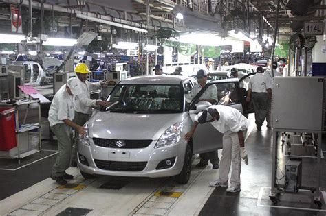 Suzuki Plant Suzuki One In Every Two Cars Sold In India Financial