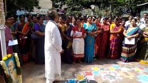 Bsnl Address Search 2nd Oct 2014 Cgm Ap Bsnl Addresses His Staff Swachh Bharat Abhiyan