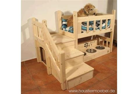 doggie stairs for bed dog bed with water bowl and little stairs pets