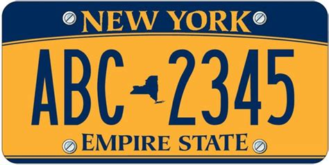 Ny Dmv Vanity Plates by Rebranding The License Plate 4 Designers Clean Up Graphic