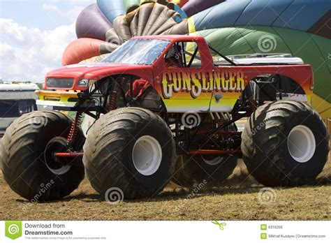 monster truck show times monster truck at car show royalty free stock image image