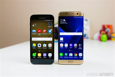is a galaxy an android phone comparisons samsung galaxy s7 edge vs samsung galaxy a7 2017 androidheadlines
