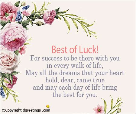 All New Quot best of luck quotes