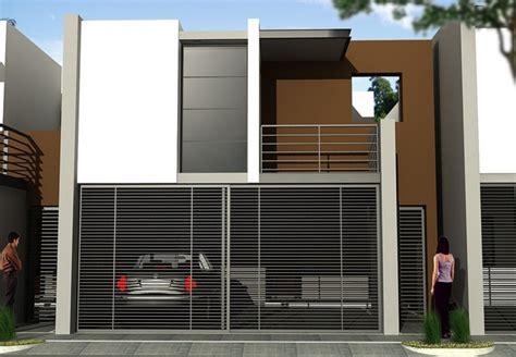imagenes de bardas minimalistas frentes de casas con rejas horizontales