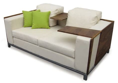 laptop table sofa comfortable sofa with sidetables by jh digsdigs