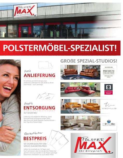 polster max polsterjournal polsterm 246 bel f 252 r alle anspr 252 che polster max