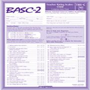Basc Sample Report Test Descriptions South County Child Amp Family