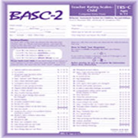 Basc 2 Sle Report Behavior Assessment System For Children Second Edition Is Pearson Using Basc 3 Report Template
